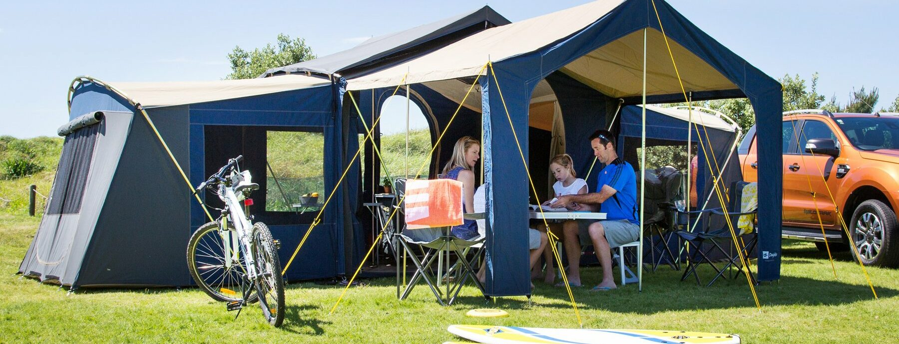 Non Powered Site for Tent, Caravans and Motorhomes